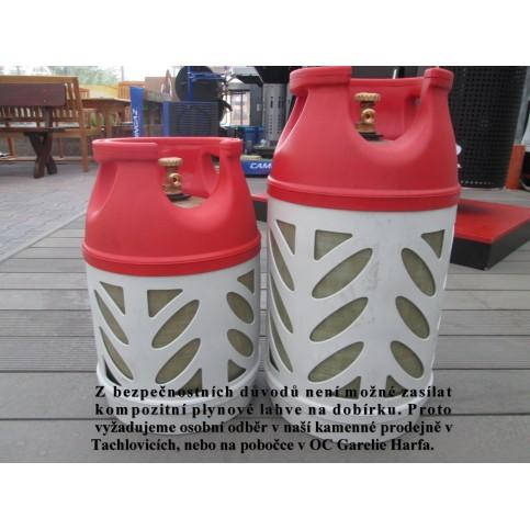 Kompozitná plynová bomba, 10 kg