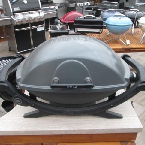 Elektrický gril Weber Q 240, tmavě šedý II. jakost