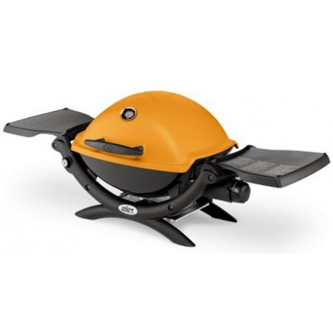Plynový gril Weber Q 1200, oranžový