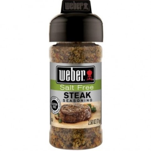Korenie Weber Steak Salt Free 71 g