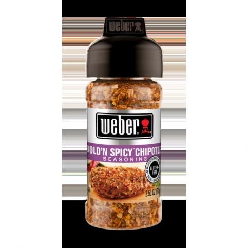 Korenie Weber Bold´N Spicy Chipotle 142 g