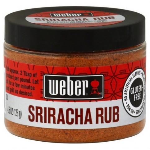 Korenie Weber Sriracha Rub 128 g