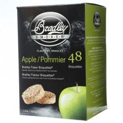Brikety na údenie Bradley Smoker Jabloň 48 ks
