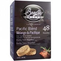 Brikety na údenie Bradley Pacific 48 ks
