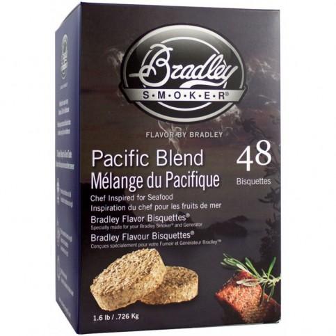 Brikety na údenie Bradley Smoker Pacific 48 ks