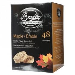 Brikety na údenie Bradley Smoker Javor 48 ks