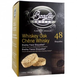 Brikety Bradley Smoker Whiskey Dub 48 ks