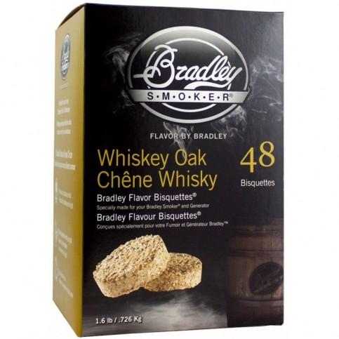 Brikety Bradley Smoker Whiskey Dub 48 ks