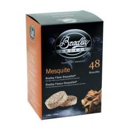 Brikety na údenie Bradley Mesquite 48 ks
