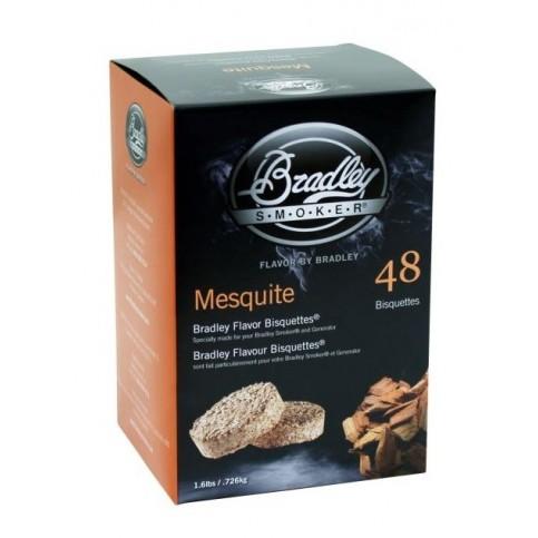 Brikety na údenie Bradley Smoker Mesquite 48 ks