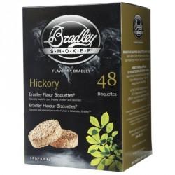 Brikety na údenie Bradley Hickory 48 ks
