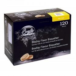 Brikety na údenie Bradley Smoker Jelša 120 ks