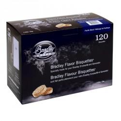 Brikety na údenie Bradley Smoker Pacific 120 ks