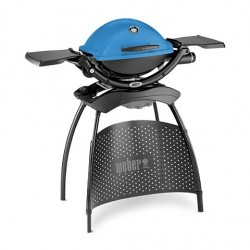 Plynový gril Weber Q 1200 Stand, modrý