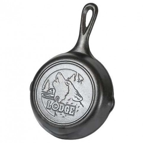 "Liatinová panvica Lodge 16 cm ""Wolf"""