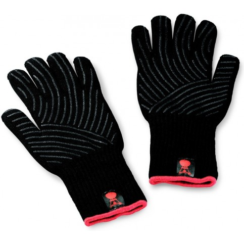Grilovacie rukavice so silikónovým úchopom, S / M