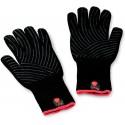 Grilovacie rukavice so silikónovým úchopom, S/M