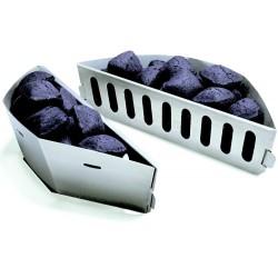 Palivové nádoby pre grily na drevené uhlie