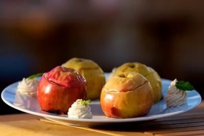 Grilované jablká