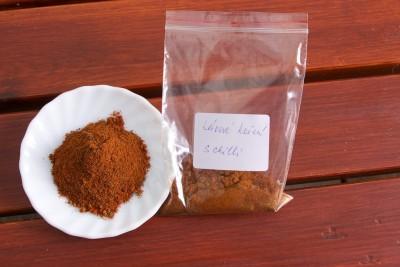 Korenie kávové s chilli
