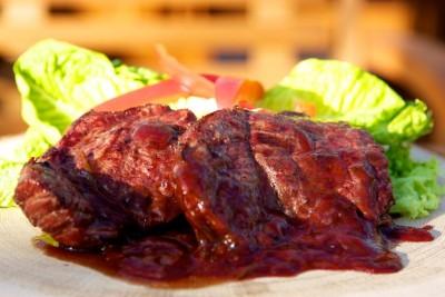 Grilovaný steak z falošnej sviečkovej