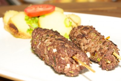 Kebab z mletého mäsa